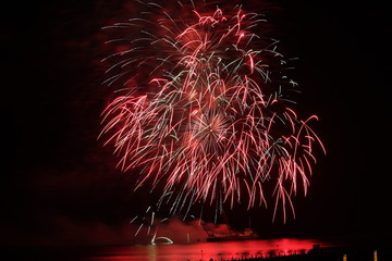 """""""Incendio del Mare"""" @ Lignano Pineta 16/08/2009 -07"""