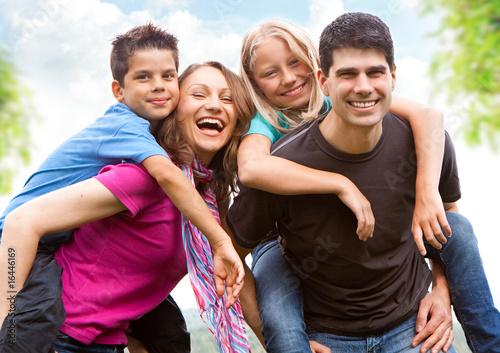 Leinwanddruck Bild family-fun 6