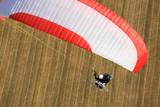Sport extreme  vue aérienne poster