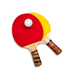Ping Pong or Table Tennis equipment