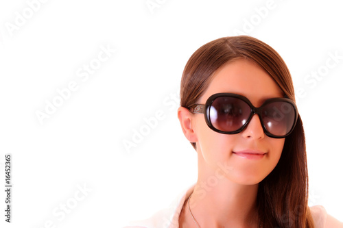 Woman in sun glasses