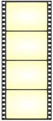wide film strip - vector