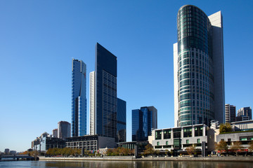Central of Melbourne city