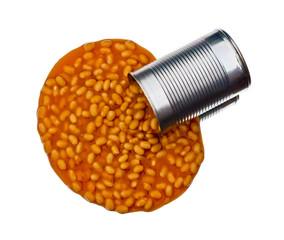 Spilling Baked beans