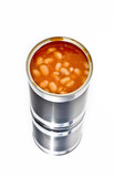 Can of baked beans