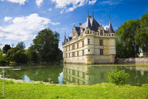 Azay-le-Rideau Chateau, France