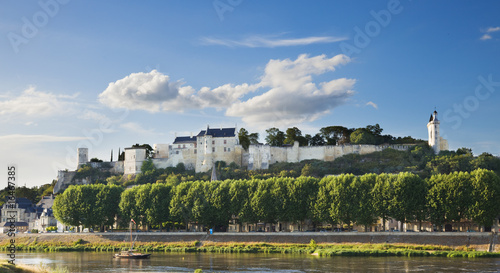 Chinon castle, France