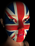 Great Britain - woman poster