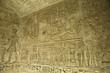 Leinwanddruck Bild - Templo de El Seboua