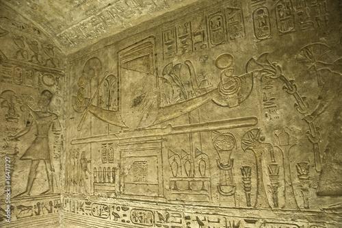 Leinwanddruck Bild Templo de El Seboua
