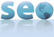 SEO earth search engine optimization symbol internet world