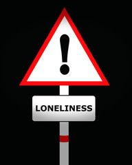 loneliness sign