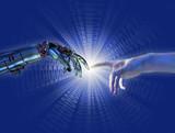 Birth of Artificial Intelligence - Binary Burst poster