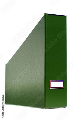 green file binder