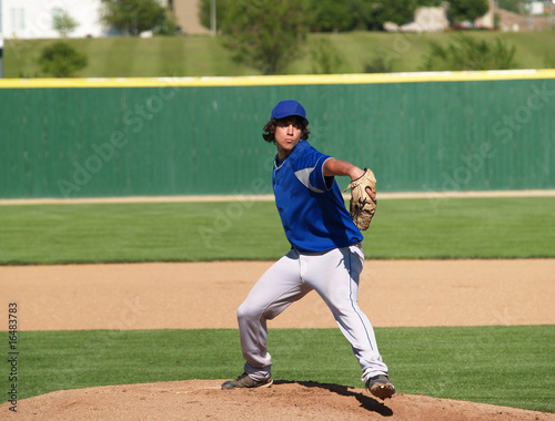 high school baseball pitcher