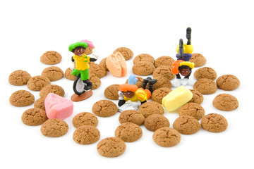Typical dutch sweets; pepernoten ginger nuts