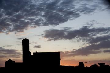 Farm Silhouette