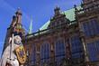 Rolandstatue vor dem Bremer Rathaus
