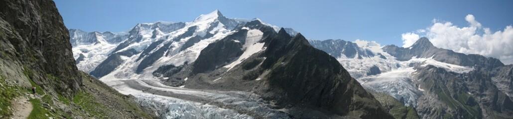 Bergpanorama Berner Oberland