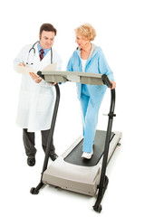 Doctor Evaluates Senior Fitness
