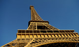 Eiffel Tower from the bottom, Paris, France