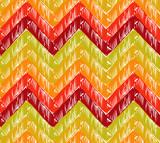 Zigzag background poster