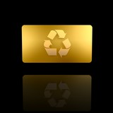golden recycle card