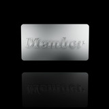 platinum member card
