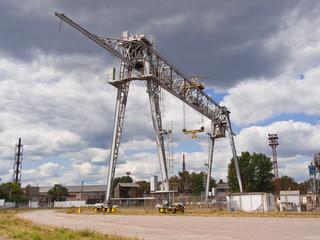 The bridge crane
