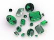 Lovable Collection  - Set of gorgeous emerald gemstones - 16498915