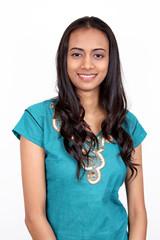 Beautiful young Indian girl.