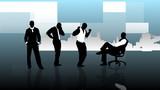 Business success concept animation