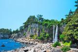 Fototapety Waterfall in an enchanted land
