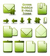 Green Bubble E-Mail Icons