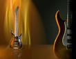 Design of electric modern guitar