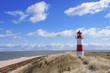 Leinwanddruck Bild - leuchtturm lighthouse sylt leuchtfeuer  Dünen Dänemark