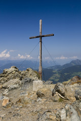 Gipfelkreuz - Ziel erreicht