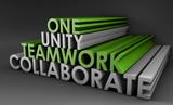 Teamwork Unity poster