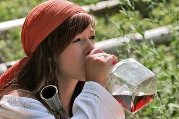 pirate alcoolique