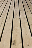 Pattern of a wooden deck
