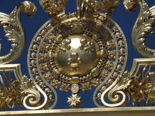 Reja del Palacio de Versalles