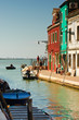 Venice as seen from Burano, Italy