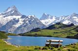 Fototapety Devant les montagnes