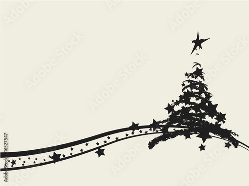 Christmas tree decorative design