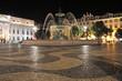 Bronzebrunnen auf dem Rossio, Lissabon