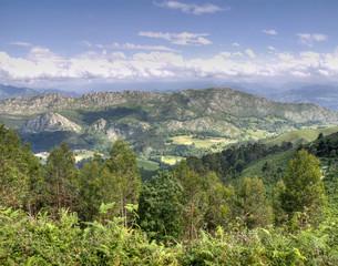 Paisaje natural asturiano
