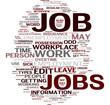 Job words cloud