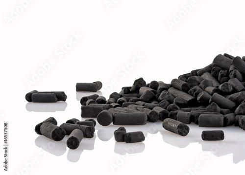 Granulés de charbon actif pour akwarium