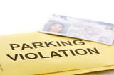 Parking violation poster