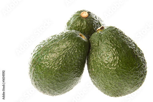 Avocados Isolated